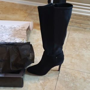 NEW WHBM sz 9 black boots